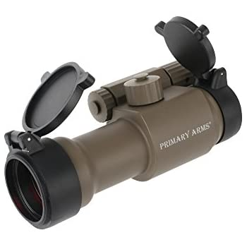 Primary Arms Advanced 30mm 2 MOA Red Dot 14,000 Hours Battery Life Black -Flat Dark Earth- PA30MMRD-AD-FDE