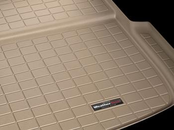 WeatherTech Custom Fit Cargo Liners for Ford Excursion, Black - Excursion Weathertech Cargo Liner