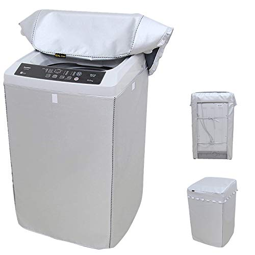 Portable Washing Machine Cover,Top Load Washer Dryer Cover,Waterproof Full-Automatic/Wheel Washing Machine Cover(24