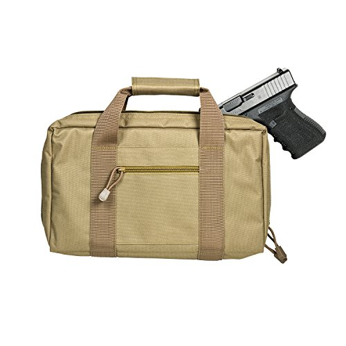 VISM by NcStar Discreet Pistol Case/Tan - Tactical Pistol Case