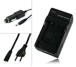 M&L Mobiles® | Cargador [ Corriente y Coche ] EN-EL9 ENEL9 | EN-EL9a ENEL9a para Nikon SLR-D40 | SLR-D40x | DSLR-D60 | DSLR-D3000 | DSLR-D5000