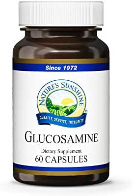 Nature's Sunshine Glucosamine, 60 Capsules | Helps Stimulate The Growth of Cartilage and Supports The Structural and Immune Systems