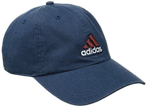 Relaxed Golf Cap (adidas Men's Ultimate Relaxed Fit Cap, One Size, Lake Blue/Burnt Sienna)