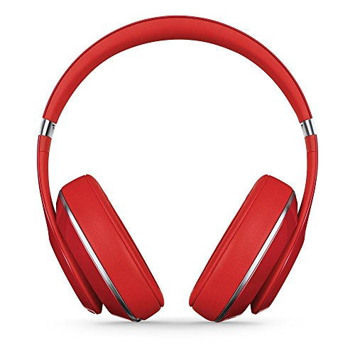 Beats by Dr. Dre Studio 2.0 Over-Ear Wired Headphones (Refurbished/Red) | 20 Hours of Playback Per Charge | Adaptive Noise Cancelling Technology | Remote Talk In-Line Remote & Mic
