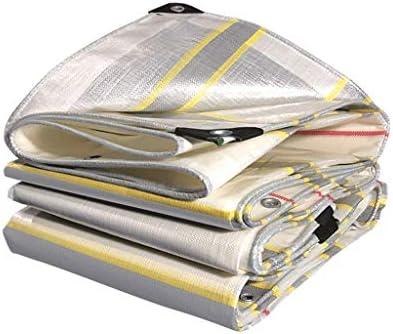 プラスチックターポリン屋外はカラーバーレインプルーフ布防水日焼け止めターポリントラックオイルキャンバスパンチシェードキャノピーを厚くします B20/05/18 (Size : 3m x 6m)