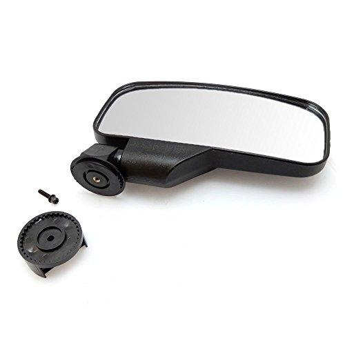 UTV Rear View / Side Mirror Break Away Offroad Mirrors for 1.5 - 2 Inch Mount Polaris RZR 900S XP 1000 Can Am Maverick X3 John Deere Gator Mirrors