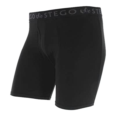 STEGO Men's Modal Comfort Boxer Brief - Ultra Light Performance Underwear at Men's Clothing store