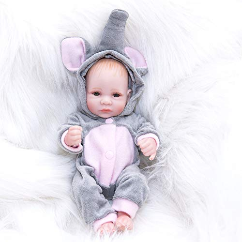 AFYH Rebirth Doll, Doll Simulation Baby - can take a Bath - Silicone Doll - Silicone Rubber, Child Growth Companion - Resistance to bite - Collection Art. by AFYH (Image #4)