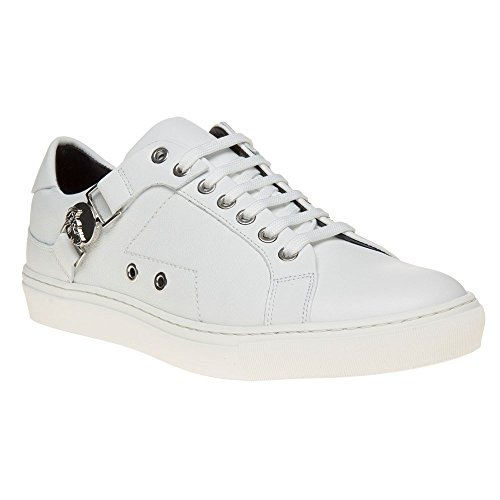 Versace Collection Saddle Branded Low Top Mens Sneakers - Versace Top Mens