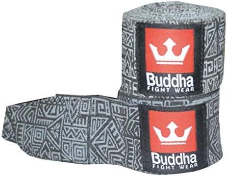 Buddha Sports Vendas de Boxeo Muay Thai MMA Kick Boxing Azteca Negra