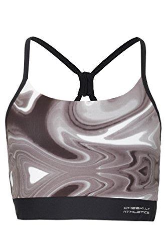 Cheeki–Cantimplora. LY Athletics Mujer Bowery Sport Top y BH wave grey