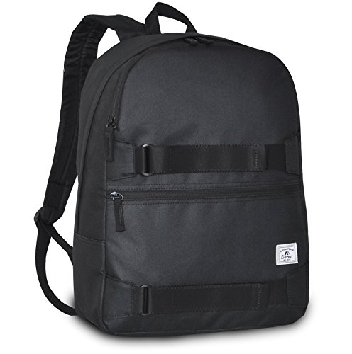 Everest Griptape Skateboard Backpack, Black