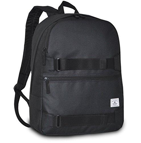 Everest Griptape Skateboard Backpack, Black