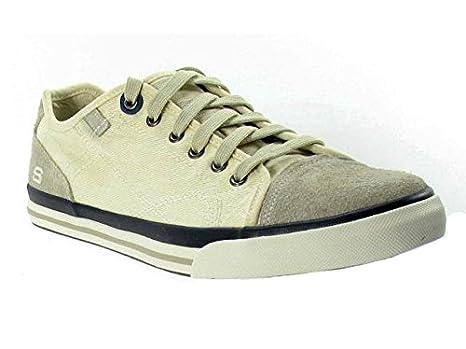 4417c4b32880 Skechers Diamondback-Levon Off White Mens Footwear Trainers  Amazon.co.uk   Clothing