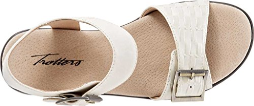 Quarter Leather Eden Trotters Beige Women's Strap Sandal wUE0Bq