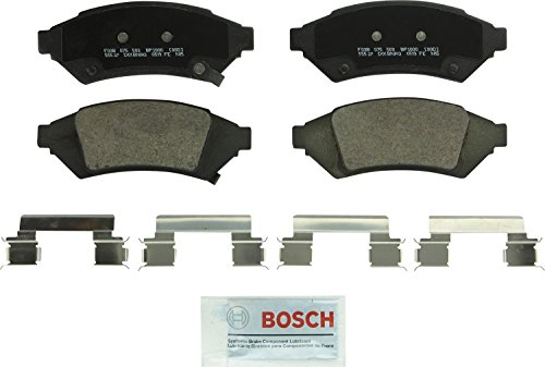 Bosch BP1000 QuietCast Premium Semi-Metallic Disc Brake Pad Set For 2004 Pontiac Grand Prix; Front