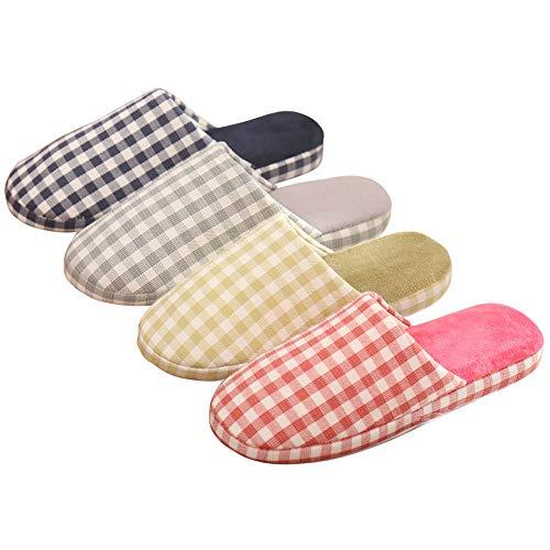 Invernali Morbide Da pink 37 Giapponesi Morbido Pantofole 36 Calde Con Cotone Accoppiano Casa Sunsunny Mute Fondo In Antiscivolo Gray Comode wq7Fxtx5A
