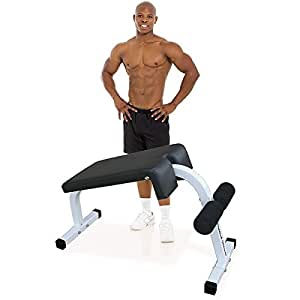 Amazon Com Deltech Fitness Sit Up Bench Weight Benches