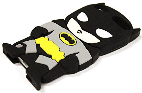 (BUKIT CELL 3D Superhero Case Bundle, Batman - Black)