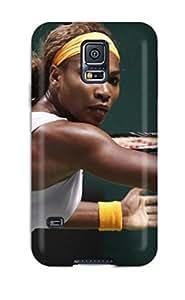 Hot Tpu Cover Case For Galaxy/ S5 Case Cover Skin - Serena Williams Tennis