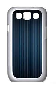 Aero Blue PC Case Cover for Samsung Galaxy S3 and Samsung Galaxy I9300 White