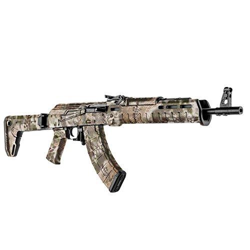 GunSkins AK-47 Rifle Skin Camouflage Kit DIY Vinyl Wrap precut Pieces (Kryptek Highlander)