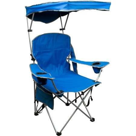 Quik Shade Pets Adjustable Canopy Folding Camp Chair Blue by Quik Shade Pets (Image #1)