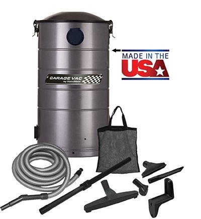 VacuMaid GV30 Wall Mounted Garage Vacuum & 30 ft Hose & Tools Deal (Large Image)