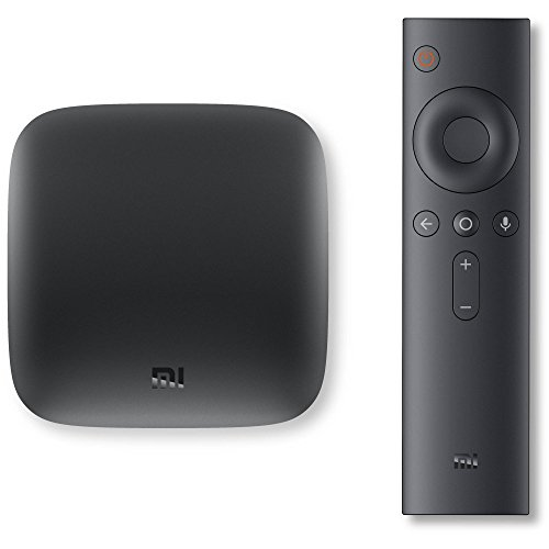 Original Xiaomi Mi Box - 4K Ultra HDR TV Streaming Media Player with Voice Search Remote (MDZ-16-AB)...