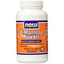 Now Foods D-Mannose, Powder 3 OZ (Pack of 2)