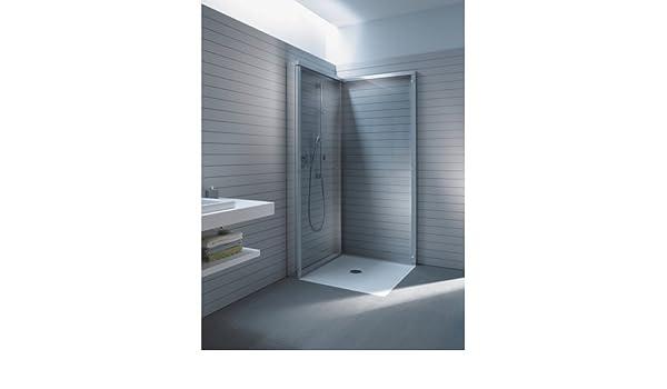 Mampara de ducha, espacio abierto, para DuraPlan bandeja 35 3/8 ...