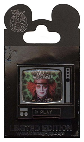 - Disney Pin - Alice in Wonderland - DVD Release