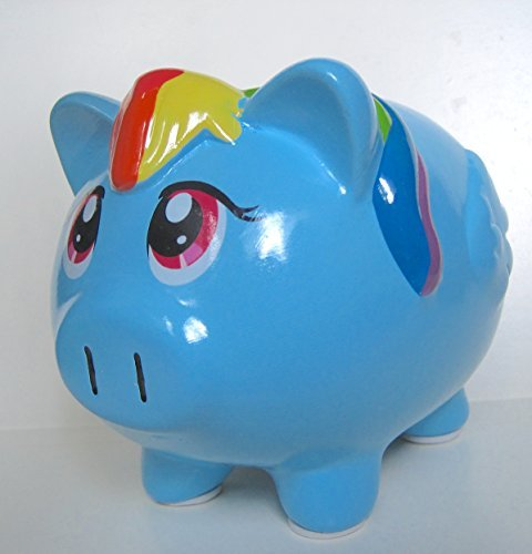 My Little Pony Rainbow Dash Ceramic Coin Bank by FAB