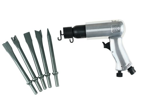Ingersoll-Rand 116K Standard Duty Pnuematic Hammer with 5 Piece Chisel Set by Ingersoll-Rand