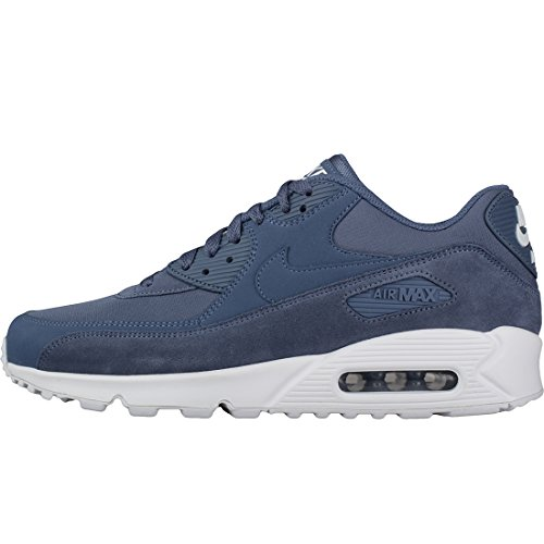EU Synthetik Herren Essential Blue 90 Nike White 5 Air Diffused Max Dunkelblau Textil Leder Sneaker Dunkelblau 48 0xn7f
