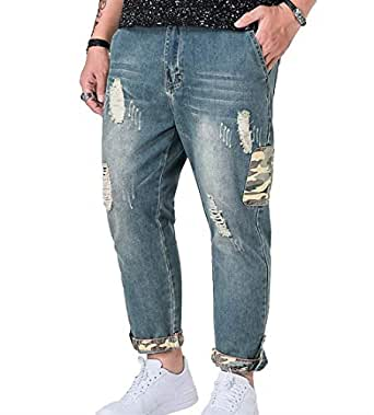 Battercake Hombres Ssige Jeans Pantalones Casuales ...