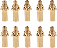 10pieces Nozzles/Gas Jet Tips - Burner Parts for Kitchen Cooking, Durable Brass Propane Jets