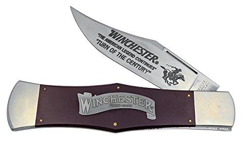 ウィンチェスター WINCHESTER  W21 1920-D/BU ビッグウィンチェスター ラージディスプレーナイフ ハンドル:29cm バーガンディマイカルタ B013UV19Q4