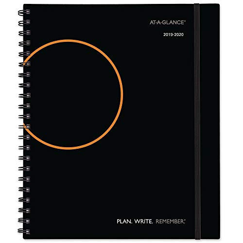 - AT-A-GLANCE 2019-2020 Academic Year Weekly & Monthly Planner/Appointment Book, Large, 8-3/4