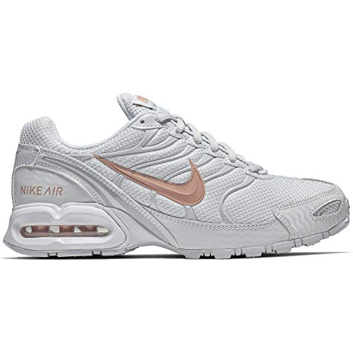 designer fashion cd0ff 38c71 NIKE Women s Air Max Torch 4 Running Shoe Pure Platinum Metallic Rose Gold  Wolf