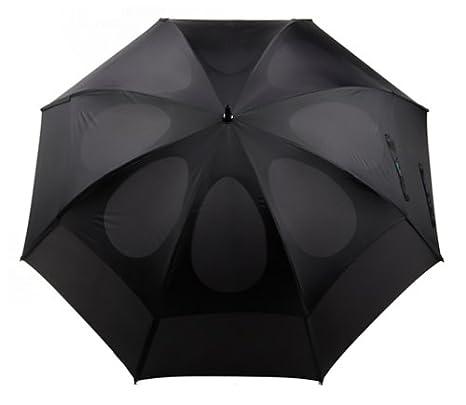 Gustbuster Pro Series - Paraguas de golf oro 62-Inch - 35162BLR, Negro: Amazon.es: Deportes y aire libre