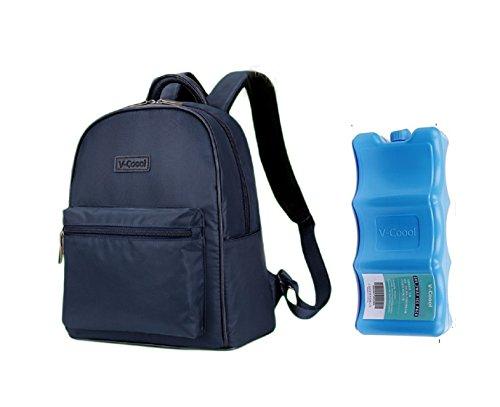V-Coool Breastmilk Cooler Backpack Handbag with 1pcs Ice ...