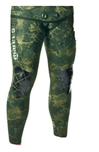 Mares Pure Instinct 5mm Pants, Green Camo, S4 Medium/Large by Mares (Image #1)