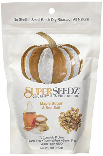 (SUPERSEEDZ Maple Sugar & Sea Salt, 5 oz)