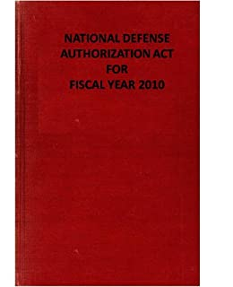 NATIONAL DEFENSE AUTHORIZATION ACT FOR FISCAL YEAR 2010