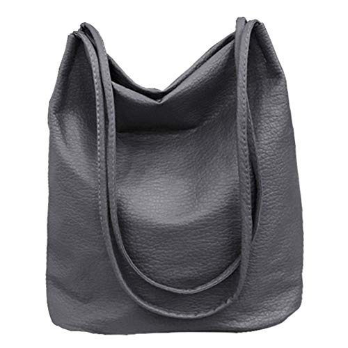 Bucket Bag Womens Purse Leather Shopper Totes Hobos Shoulder Bags ()