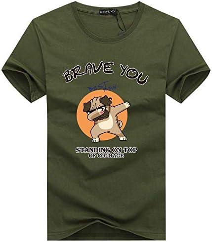 AVJDJ Camisetas de Hombre de Gran tamaño Moda Animal Print Hipster Camiseta Divertida Hombres Verano Calle Casual Hip-Hop Camiseta Hombre Tops 5XL Verde: Amazon.es: Deportes y aire libre