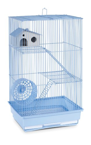 (Prevue Hendryx SP2030B Three Story Hamster and Gerbil Cage, Light)