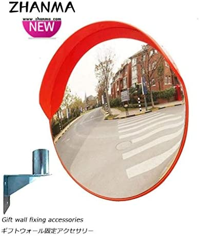 カーブミラー 広角セキュリティ凸面鏡、視角ウォールは、駐車場ワークショップのために広げホライゾンミラーをマウント RGJ4-26 (Size : 600mm)