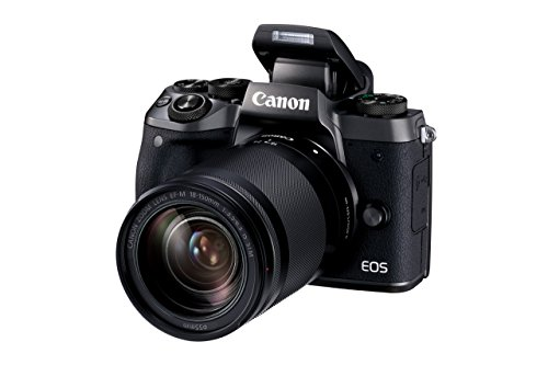 Canon EOS M5 Mirrorless Camera Kit EF-M 18-150mm f/3.5-6.3 IS STM Lens Kit - Wi-Fi Enabled & Bluetooth (Renewed)